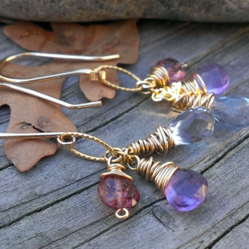"Gemstone Cascade - As Seen On ""Jane the Virgin"""